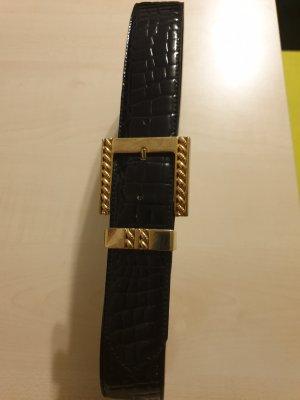 Fibbia per cinture nero-oro
