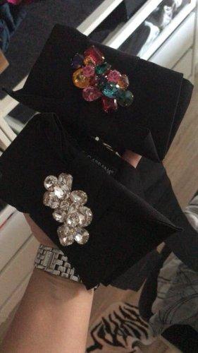 Dolce & Gabbana Fabric Belt black