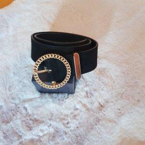 Gina Tricot Cinturón de cuero de imitación negro