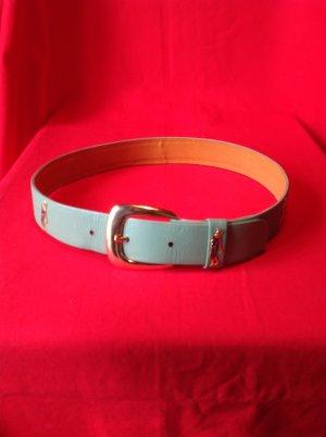 Waist Belt lime-green leather