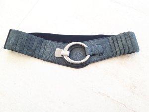 Tailleriem zwart-grijs