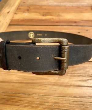 Friis & Company Leather Belt black brown