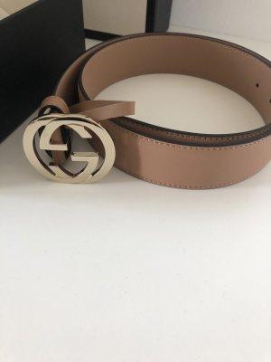 Gürtel, Gucci, nude-rosé, 85cm