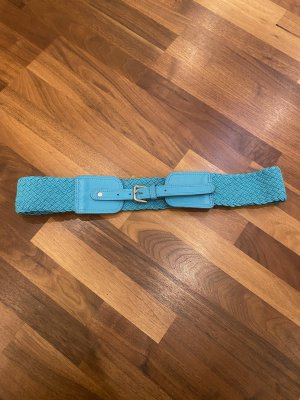 H&M Fabric Belt turquoise