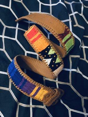 Gürtel Ikat Aztek Stickerei Embroidery