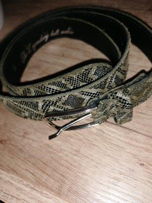 Cinturón de cadera gris antracita-ocre