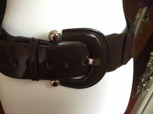 Cintura fianchi marrone-rosso