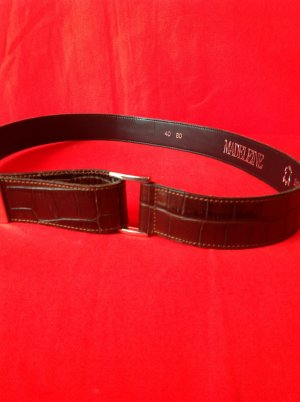 Madeleine Leather Belt brown leather