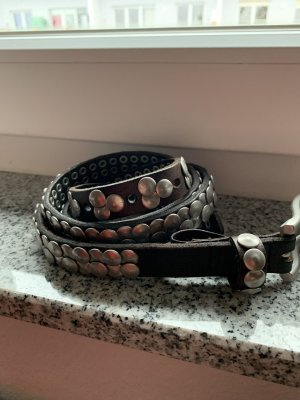 Liebeskind Studded Belt black brown-dark brown