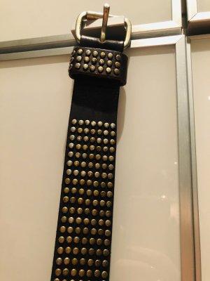 Liebeskind Berlin Leather Belt black-bronze-colored