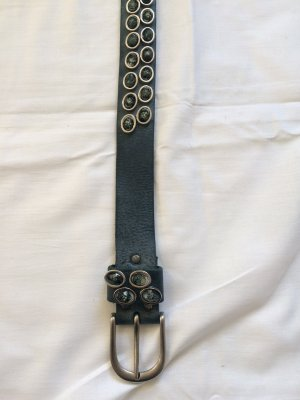 Studded Belt petrol