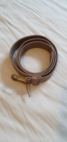 b.p.c. Bonprix Collection Faux Leather Belt camel
