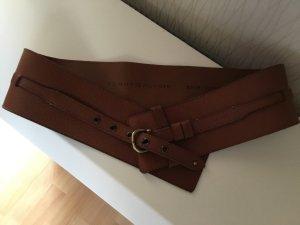Tommy Hilfiger Hip Belt cognac-coloured leather