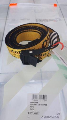 Gürtel Off White industrial belt Mini NEU mit Rechnung und OVP