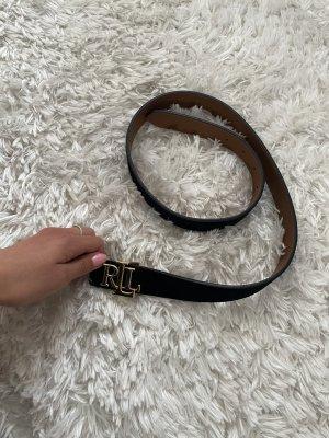 Polo Ralph Lauren Double Belt brown-black