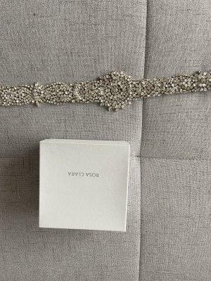 Rosa Clara Cinturón pélvico color plata