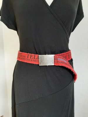 Fabric Belt red