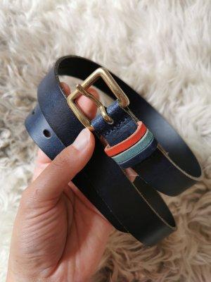 s. Oliver (QS designed) Leather Belt multicolored