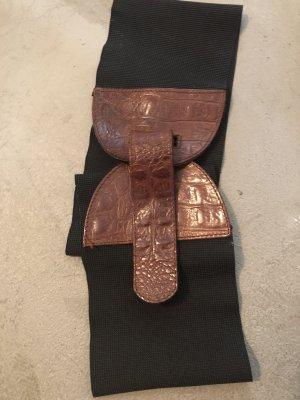 Cintura fianchi marrone-nero