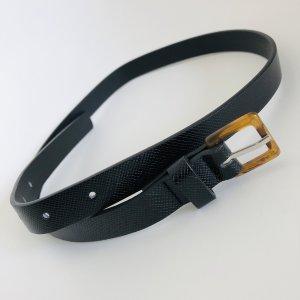 Gürtel schwarz Gr 80 cm schwarz