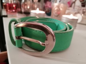 Best emilie Faux Leather Belt silver-colored-turquoise
