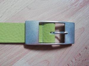 Bernd Götz Leather Belt meadow green-green leather