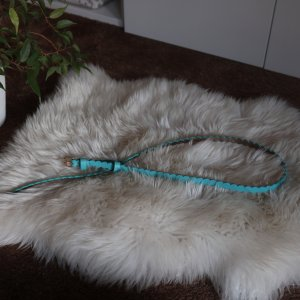 Boden Leather Belt turquoise leather