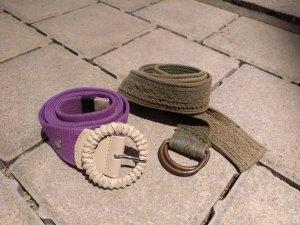 Esprit Belt lilac-khaki