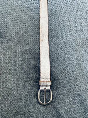 Esprit Leather Belt grey-light grey