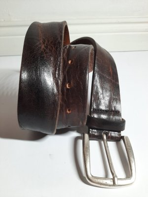 Hüftgold Cinturón de cuero multicolor