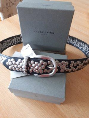 Liebeskind Studded Belt grey