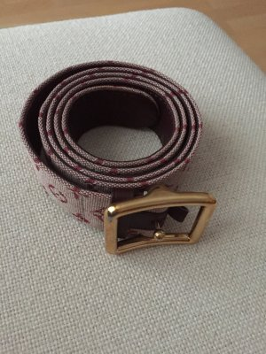 Louis Vuitton Hip Belt brown red-cream