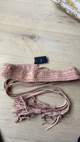 Maje Waist Belt dusky pink