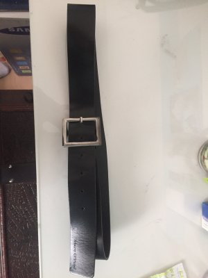 Marc O'Polo Leather Belt black