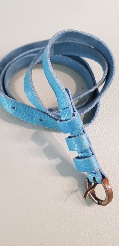 XX BY MEXX Faux Leather Belt pale blue