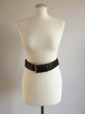 Michael Kors Cinturón pélvico marrón oscuro