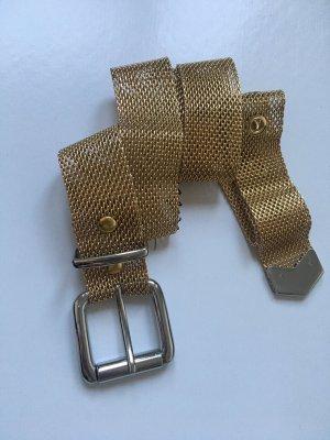 Gürtel von &otherstories Gold Silber extravagant Metall
