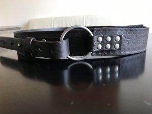 s.Oliver Cinturón pélvico marrón oscuro