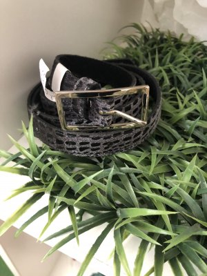 Cintura fianchi nero-grigio scuro
