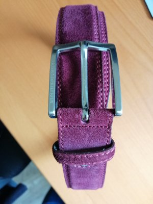 Tommy Hilfiger Leather Belt purple