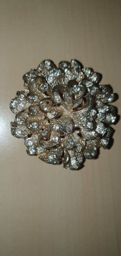 Fibbia per cinture argento Tessuto misto