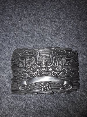 Belt Buckle silver-colored