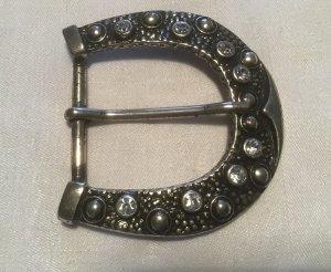 Buckles & Belts Boucle de ceinture gris clair métal
