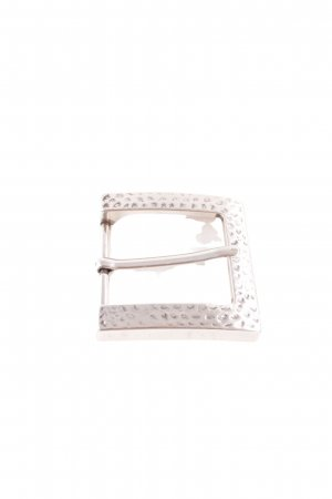 Belt Buckle silver-colored casual look
