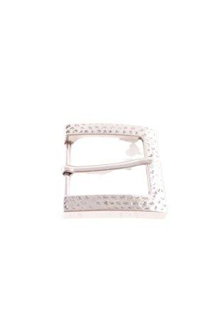 Fibbia per cinture argento stile casual