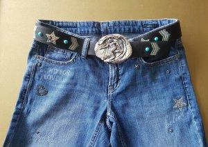 Buckles & Belts Riemgesp zilver Metaal