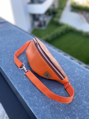 Bumbag orange-cream