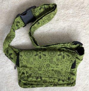 Gürteltasche Bauchtasche Sidebag limone khaki