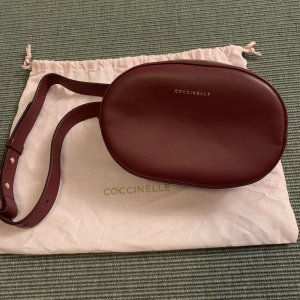 Coccinelle Bumbag carmine leather
