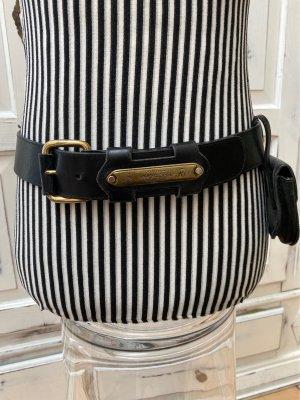 Leather Belt black